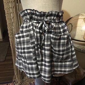 COOPERATIVE mini skirt sz L NWT